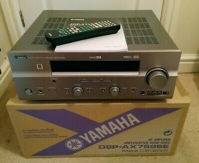 Yamaha DSP-AX759SE Home Cinema Av Amplifier. Boxed, Remote & Instructions • 90£