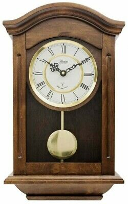 £195 • Buy Acctim Westminster Chime Wooden Radio Controlled Battery Wall Clock 76076