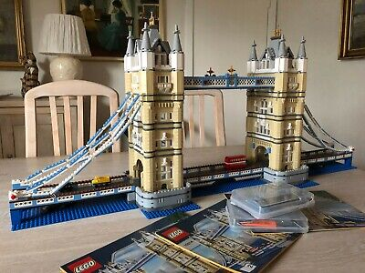 Lego Creator 10214 Tower Bridge With LED Lighting Kit-100% Complete • 295£
