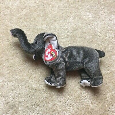 TY Beanie Babies Elephant Trumpet With Tag • 5£