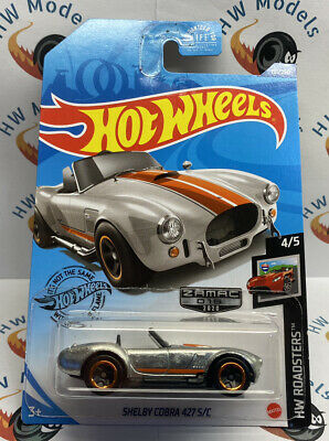 Hot Wheels Shelby Cobra 427 S/c Zamac U.s Exclusive  • 7£