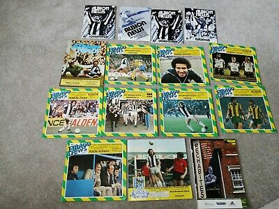 West Brom Football Programmes (15 In Total As Listed) • 2.99£