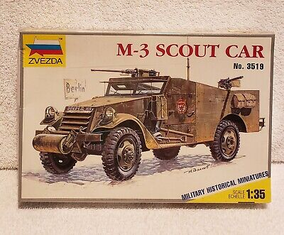 $37.99 • Buy Zvezda M-3 Scout Car #3519 Militgary Historical Miniatures 1/35 Scale