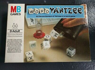 Word Yahtzee & Pad – Excellent Condition - Vintage MB Games  • 5£