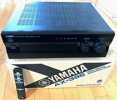Yamaha AX-396 150W Amplifier With Phono Stage, Original Remote Control + Box • 44£