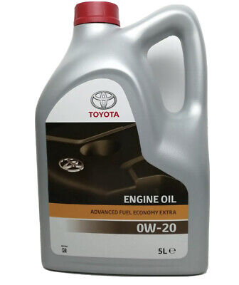 Toyota Hybrid 0W-20 Synthetic Engine Motor Oil 08880-83265 5L • 39.59£
