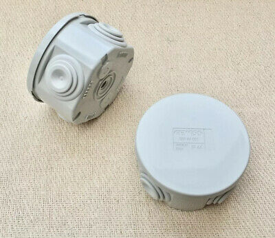 Gewiss 44 001 IP Rated Adaptable Gland Junction Boxes 65mm X 35mm - Brand New X2 • 11.99£