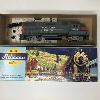 $ CDN20.85 • Buy HO Scale Athearn Trains In Miniature Southern Pacific 1808 Locomotive