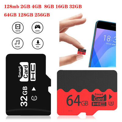 AU9.99 • Buy Micro SD TF Card 2G-256GB Ultra Extreme Memory Camera Phone Speaker PSP Console