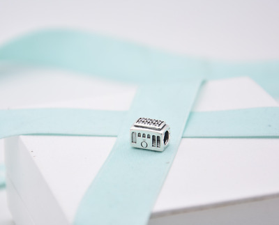 Authentic Pandora Cable Car, Clear CZ Sterling Silver Charm 791219CZ Gift Pouch • 22.99£