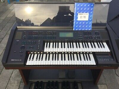 Yamaha EL-90 Electone Organ In Excellent Condition Yamaha Stool FM Synthesizer • 250£