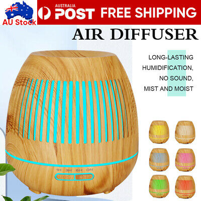 AU29.79 • Buy Aromatherapy LED Diffuser Aroma Essential Oil Ultrasonic Air Humidifier Mist