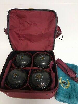 Henselite Classic Lawn Bowls Size 0 Heavy With Emsmorn Carry Bag • 26.99£