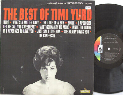 TIMI YURO LP, The Best Of Timi Yuro (LIBERTY US Issue) • 13.80£