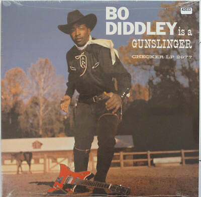 BO DIDDLEY LP, Bo Diddley Is A Gunslinger (Checker US Issue) • 16.10£