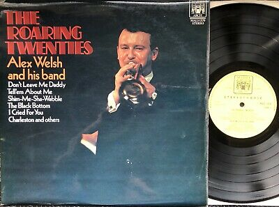 Alex Welsh And His Band. The Roaring Twenties. Vinyl Jazz Record • 1£