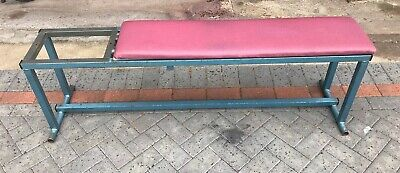 Vintage Weight Lifting Bench Gym Equipment • 75£