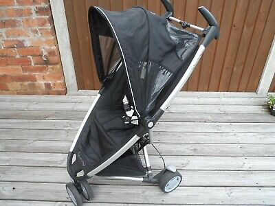 Quinny Zapp Xtra Single Seat Stroller - Black - For Babys 6 Months Old And Above • 59.99£