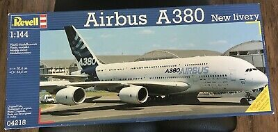 REVELL AIRBUS A380 New Livery (First Flight) - #04218 Airline Model Kit 1:144 • 35.73£