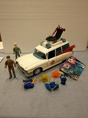 Kenner The Real Ghostbusters Ecto-1 Vehicle With Series 1 Figures & More Vintage • 25£