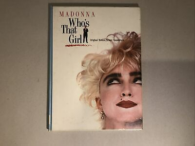 Madonna - Who's That Girl Music Book Hardback 1987 Motion Picture Soundtrack • 19.99£