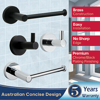 AU19.99 • Buy Toilet Paper Holder Brass Towel Rack Wall Mounted Toilet Roll Holder Dispenser