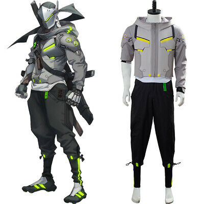 $ CDN106.20 • Buy Overwatch 2 OW Genji Cosplay Costume Outfit Top Pants Daily Wear Version Uniform