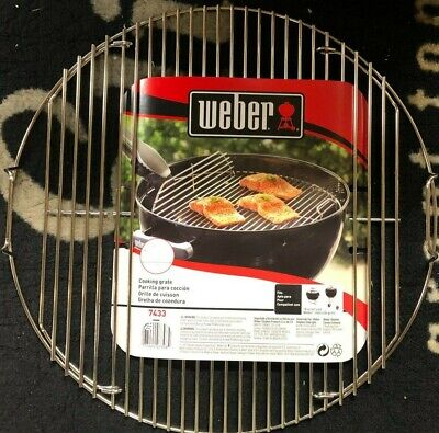 $ CDN23.80 • Buy Weber 7433 (17.5 In) Hinged Cooking Grate For 18 Inch Weber Charcoal Grills
