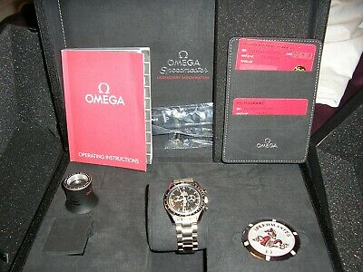 OMEGA SPEEDMASTER MOON PROFESSIONAL Chronograph Watch - Black Face • 2,900£