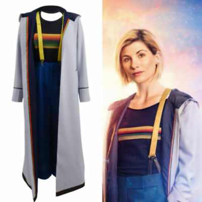 Who Is Dr. No. 13 Doctor Who Jodie Whittaker Coat Cosplay Costume 2 • 31.08£