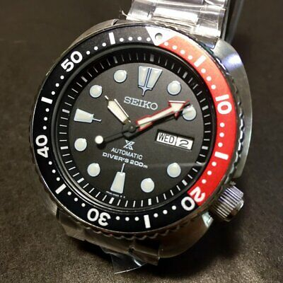 $ CDN432.34 • Buy SEIKO Prospex Turtle SRP789K1 Automatic 200m Diver Red & Black Original Box #