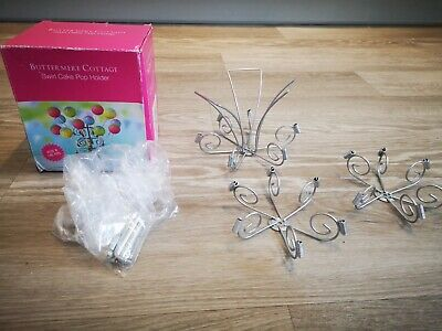 Buttermere Cottage Swirl Cake Pop Holder With Box • 3.10£