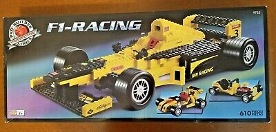 F1-RACING CAR FROM MEGABLOKS. FROM THEIR PRO-BUILDER COLL - 610 Pieces Age 7+ • 11.49£