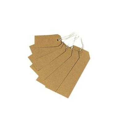 Manilla CARD LUGGAGE Gift TAGS ON STRING Tie On Travel Suitcase Bag ALL SIZES • 1.99£