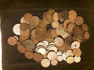 English & Foreign Coins.145 In Total,768 Grms.Some Coins Dated 1800,s.See List. • 0.99£