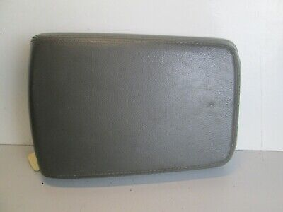 $59.90 • Buy 03-06 LINCOLN LS Center CONSOLE Storage LID Cover Armrest ARM REST SLID OEM GRAY