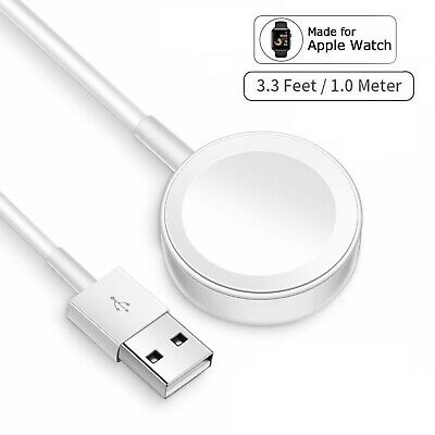 $ CDN10.28 • Buy Magnetic Charging Dock USB Charger Cable For Apple Watch IWatch Series 1 2 3 4 5