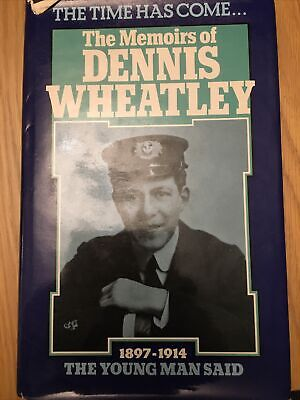 Memoirs And Misinformationf Dennis Wheatley Signed Copy Hardback • 14.99£