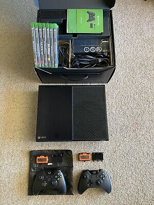 AU172.50 • Buy Xbox One 500GB Day One Console - Boxed, 2x Controllers, 2x Batteries, 7x Games