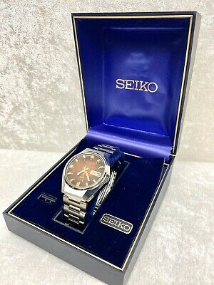 $ CDN345.40 • Buy Men's Vintage 1975 Automatic Seiko DX Watch  17 Jewels Mint Condition With Box