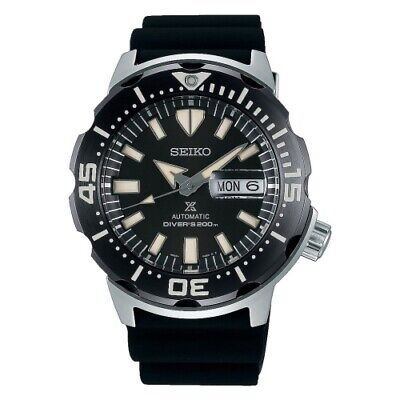 $ CDN369.80 • Buy New Seiko Prospex Monster Automatic Divers Rubber 200m Black Dial Srpd27