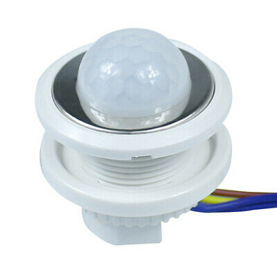 Time Delay Night Switching Ceiling Light Switch Mini PIR Infrared Motion Sensor • 3.94£