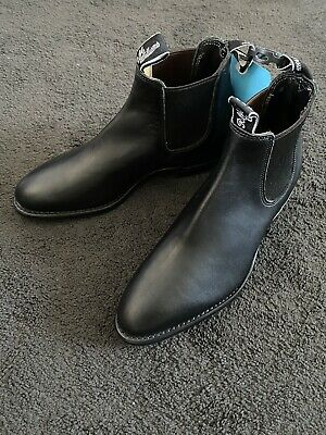 AU220 • Buy RM Williams Adelaide Yearling Black - Size 9D US9 EU40