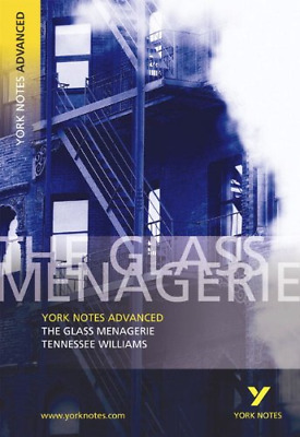 The  Glass Menagerie  (York Notes Advanced), Very Good Condition Book, Tennessee • 3.23£