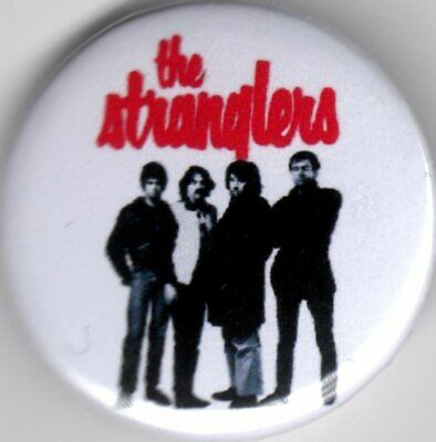 THE STRANGLERS Pin(Button) Badge 25mm - PUNK ROCK - RATTUSGOLDEN BROWN PEACHES  • 1.15£