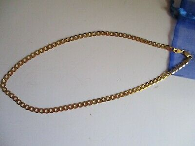 AU990 • Buy Beautiful Solid  9 Ct Gold Chain 50 Cm Long