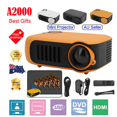 AU42.99 • Buy Mini Portable Pocket Projector HD 1080P LED Home Theater Video Projector HDMI AU