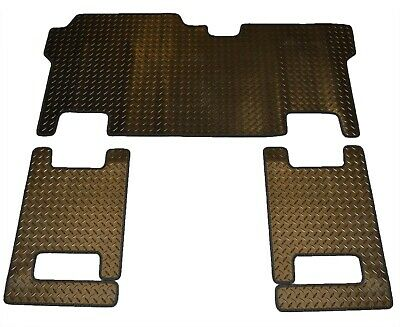 £74.99 • Buy Ford Transit Custom Crew Cab Rubber Mat - 3mm Checker Plate Rubber