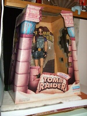 Playmates Vintage Lara Croft Tomb Raider Statue Mint In Box RARE 1998 • 9.57£