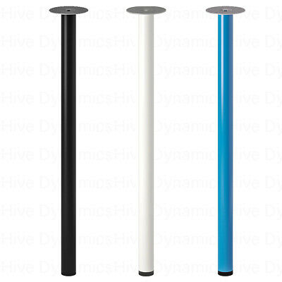 IKEA Adils Metal Table Legs, Table Support Stand Legs Only 70cm All Purpose • 7.99£